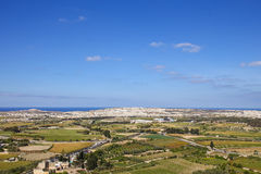 View from Mdina to north side of Malta. EU Stock Photos