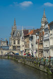 View of Medeival Ghent Royalty Free Stock Photo