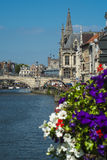View of Medeival Ghent Royalty Free Stock Images