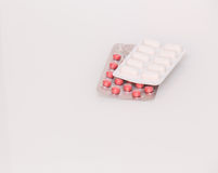 View of the medicine pills Stock Photos