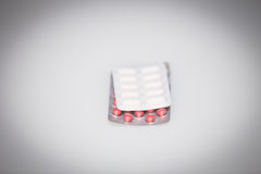 View of the medicine pills Royalty Free Stock Photos