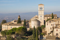 View of medieval assisi town Royalty Free Stock Photography