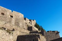 Medieval castle of Cardona in Catalonia, Spain Royalty Free Stock Photos