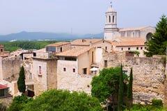 View of Medieval Girona Stock Photo