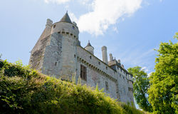 View on medieval manor house Stock Photography