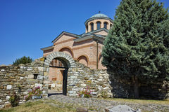 View of Medieval Monastery St. John the Baptist, Kardzhali,  Bulgaria. Amazing view of Medieval Monastery St. John the Baptist, Kardzhali,  Bulgaria Royalty Free Stock Images