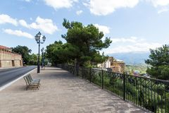 View of  medieval town Chieti, Abruzzo, Italy Stock Images