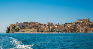 View of medieval town of Gaeta, Lazio, Italy Royalty Free Stock Image