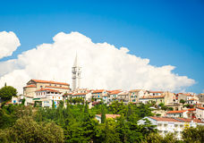 View of Medieval Town Vrsar in Croatia. Royalty Free Stock Photography