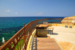 View of the Mediterranean Sea -  Cyprus Stock Images