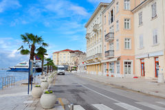 View of Mediterranean town Royalty Free Stock Photos