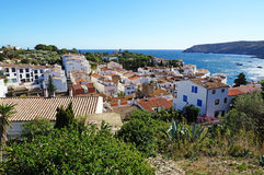 View of the Mediterranean village of Cadaques Stock Photo