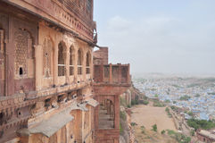 A view of Mehrangarh fort Royalty Free Stock Photography