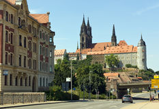 View in meissen germany Stock Photography