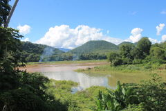 View on the Mekong,Laos Stock Photography