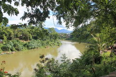 View on the Mekong,Laos Stock Image