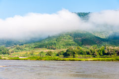 View at Mekong river Stock Image