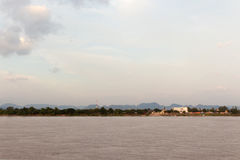 View of the Mekong River Near Thailand-Laos Royalty Free Stock Image