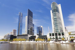 View of Melbourne CBD in the daytime Stock Photography