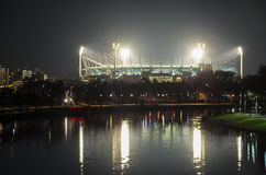 View of the Melbourne Cricket Ground in Australia Royalty Free Stock Photos