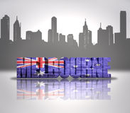 View of  Melbourne Royalty Free Stock Images