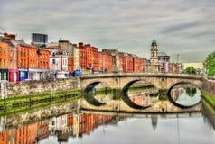 View of Mellows Bridge in Dublin Royalty Free Stock Photos