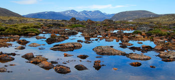 View from a Meltpool Royalty Free Stock Image