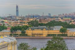 Landmarks Saint-Petersburg, Russia stock photos