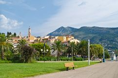 View of  Menton, France Stock Image