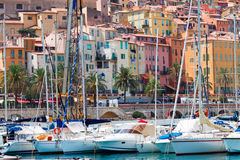 View of Menton, France Royalty Free Stock Images