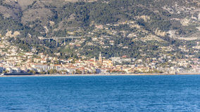 View of Menton Stock Photography
