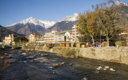 A view of Merano royalty free stock photos