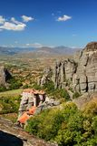 View of Meteora Royalty Free Stock Image