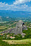 The view of Meteora Royalty Free Stock Images