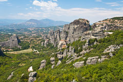 View of Meteora Royalty Free Stock Photos