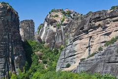 View of Meteora. Greece. View of Meteora. Europe, Greece Stock Photo