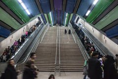 View of metro station Tajrish Royalty Free Stock Photo