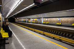 View of metro station Royalty Free Stock Photography