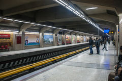 View of metro station Stock Photo
