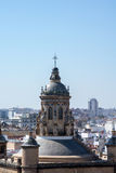 View from Metropol Parasol on Seville Royalty Free Stock Photo