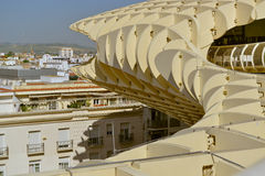 View from metropol parasol, seville,pain Stock Photos
