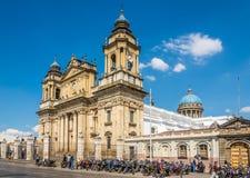 View at the Metropolitan Cathedral of Guatemala City - Guatemala stock photos