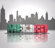View of Mexico Royalty Free Stock Photo