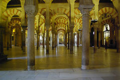 View of the Mezquita cathedral, an example of mixed architecture Stock Photo