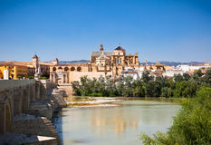 View on Mezquita Cathedral (The Great Mosque) in Cordoba, Spain. stock image