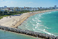 View of Miami Beach Royalty Free Stock Photography