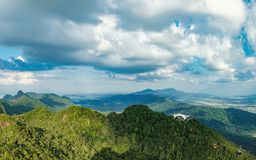 Middle Station of Langkawi Cable Car, Malaysia stock photography