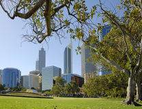View at midtown Perth Royalty Free Stock Photos
