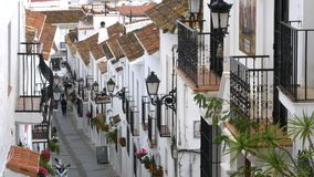 Mijas village stock footage