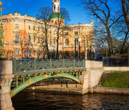 View of the Mikhailovsky Castle. Saint Petersburg. Russia Royalty Free Stock Images